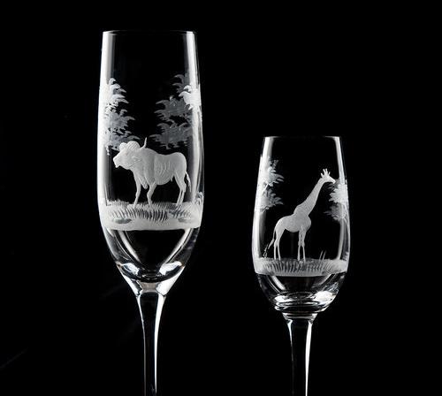 Champagne and Martini Glasses