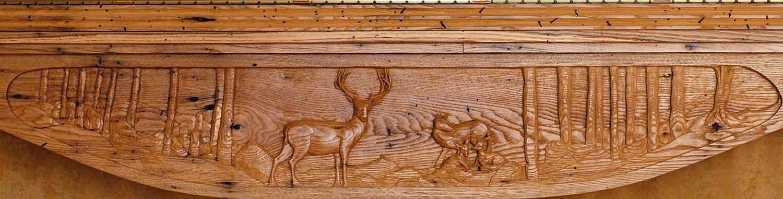 Larry Lefner - Wood Sculptures