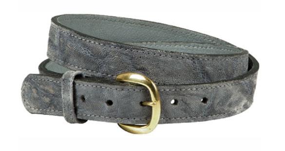 African Game Hide Belts