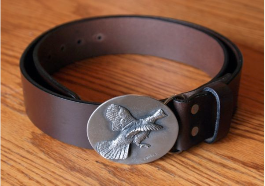DePaolis Pewter with Royden Leather Belts