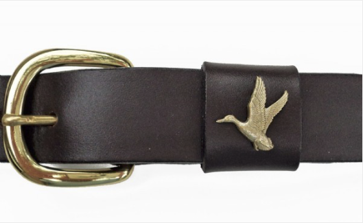 Leather Belts with Ornament Fixture
