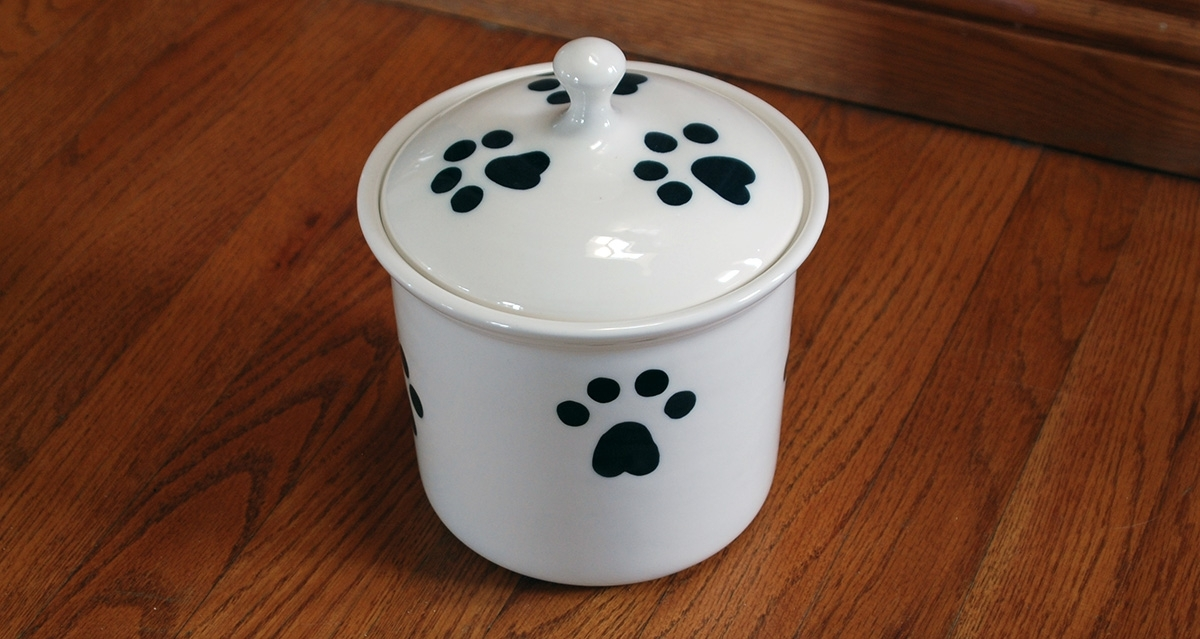 Dog Bowls and Treat Jars