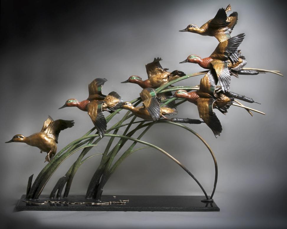 Ronnie Wells - Bronze Sculptures