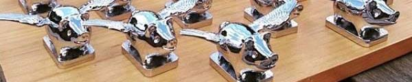 Domestic Animal Hood Ornaments