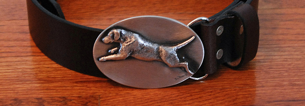 The Art of Lou DePaolis - Pewter Buckles and Pins