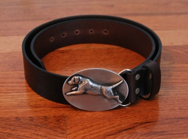 Leather Belts with Ornament Buckle