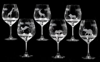 24 oz Vino Grande Burgundy Glass - Queen Lace Crystal