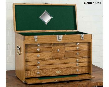 2610 Journeyman Chest by Gerstner in Golden Oak or Natural Walnut wood