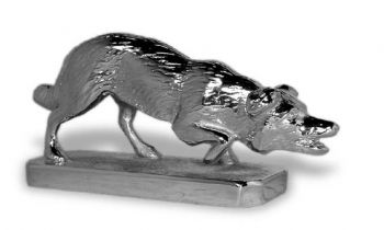 Border Collie Hood Ornament or Car Mascot by Louis Lejeune