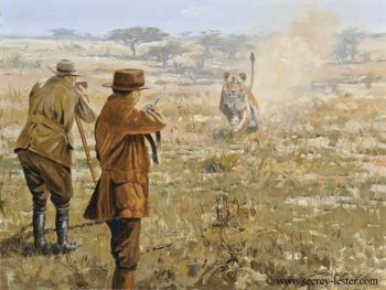 Action - a Giclee print by John Seerey-Lester