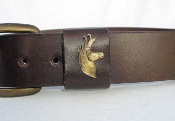Antelope Royden Leather Belt
