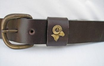 Big Horn Head Belt by Royden