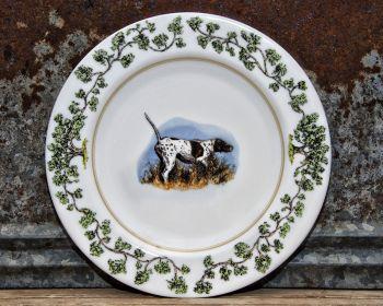 Bird Dog on Point Plantation China Dinnerware by WM Lamb and Son