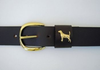 "1 1/4"" wide Bird Dog Belt by Royden Leather Belts"