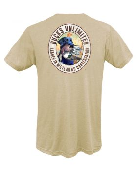 Black Lab Widgeon Short Sleeve Ducks Unlimited T Shirt
