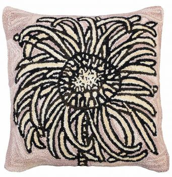 Bloomers 2 Michaelian Home Needlepoint Pillow