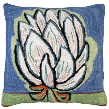 Bloomers 4 Needlepoint Pillow by Michaelian Home