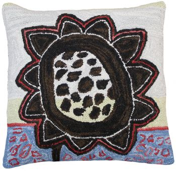 Bloomers 5 Needlepoint pillow by Michaelian Home