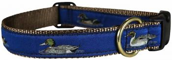 Ble one inch ducks design dog collar by Belted Cow