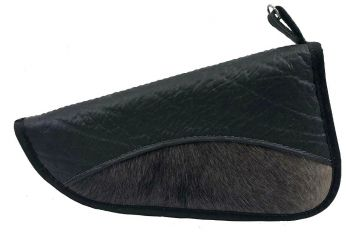 Blue Wildebeest & Cape Buffalo Hide Handgun Case
