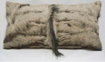 Blue Wildebeest Rectangular Mane Pillow