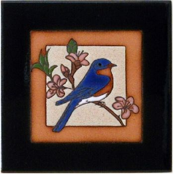 Bluebird Ceramic Tile by Maanum Custom Tiles