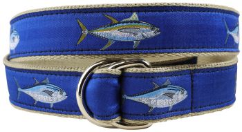 Bluefin and Yellowfin D Ring Belt by Belted Cow