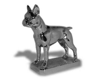 Boston Terrier Hood Ornament or Car Mascot by Louis Lejeune