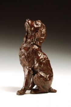 Boykin Spaniel Bronze Sculpture by Liz Lewis