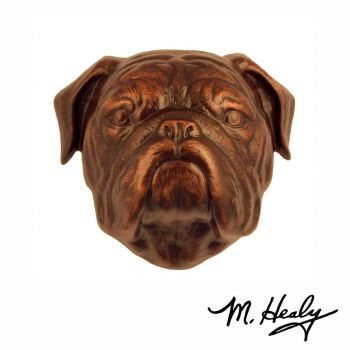 Bulldog Door Knocker by Michael Healy
