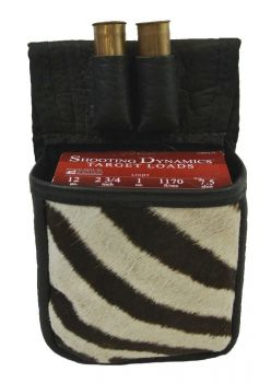 Cape Buffalo and Zebra Trap/Skeet Pouch