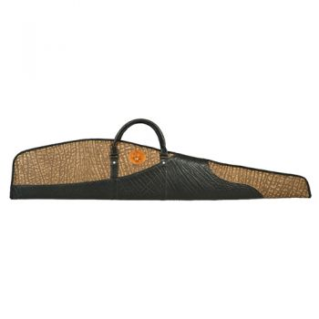 Cape Buffalo Hide Rifle Case - Three Tone Design