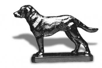 Chesapeake Bay Retriever Hood Ornament or Car Mascot by Louis Lejeune