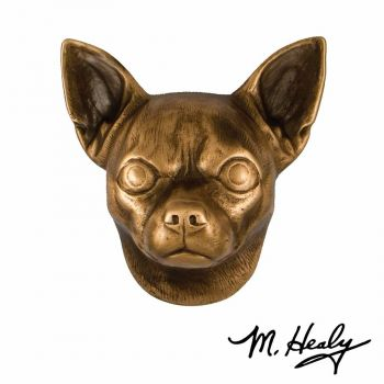 Chihuahua Door Knocker by Michael Healy