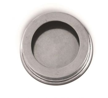 Classic Pewter wine coaster from Vagabond House