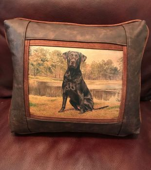 Clover - Leather Frame Pillow