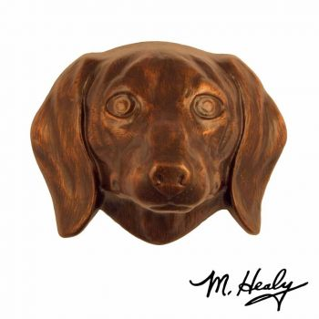 Dachshund Door Knocker by Michael Healy