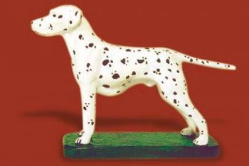 Dalmatian Hood Ornament or Car Mascot by Louis Lejeune
