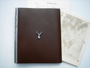 Deer Hunter Journal by Royden Leather