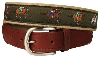Derby Leather Tab Belt by Belted Cow