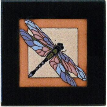 Dragon Fly Ceramic Tile - Maanum Custom Tiles