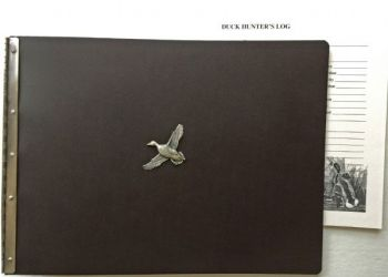 Ducks Hunter Leather Journal by Royden Leather