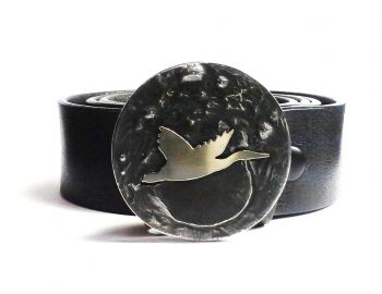 Flying Duck Buckle by Tyger Forge