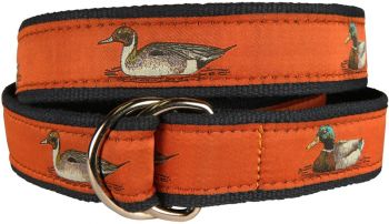 Belted Cow Ducks Burnt Sienna D Ring Belt