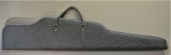 Elephant Hide Contoured Rifle Case Gray Right View