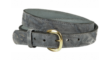 Elephant Hide Men's Belt - Gray