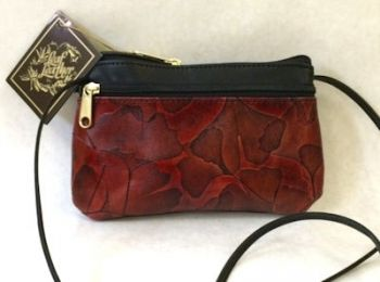 Leaf Leather Ellen Bag by CL Whiting