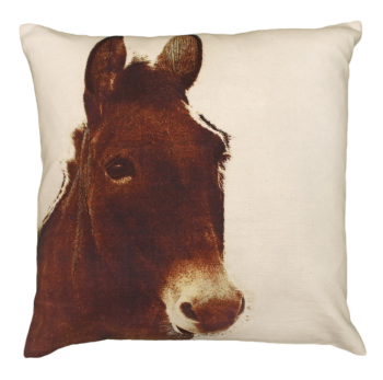 Ely Donkey Printed Pillow by Michaelian Home