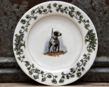 English Pointer Salad Plate Plantation China by WM Lamb and Son