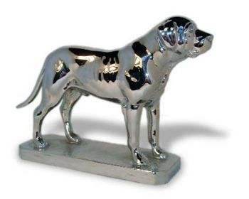 English Mastiff Hood Ornament or Car Mascot by Louis Lejeune